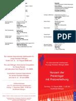2006 Preis Programm