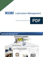 Lubrication Management