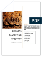 Bitcoins Marketing Strategy