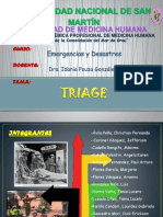 Triage Exposición