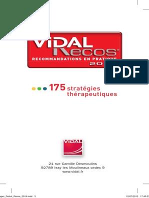 RECOS TÉLÉCHARGER PDF GRATUIT VIDAL