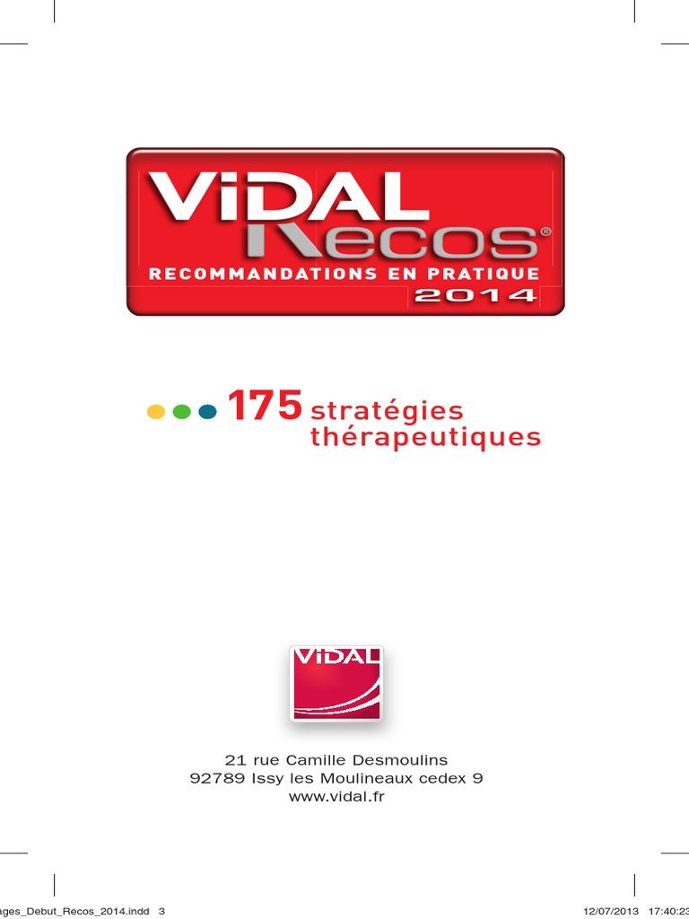 RECOS GRATUIT VIDAL TÉLÉCHARGER PDF