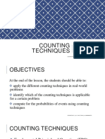 2.5 - Counting Techniques