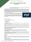 BCA Construction Quality Assessment System CONQUAS Overview