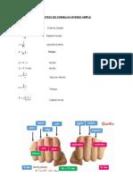 Formula Ejercicios