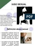 Abuso Sexual en La Adolescencia