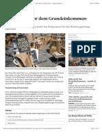 Zürich steht vor dem Grundeinkommen-Experiment - News Zürich