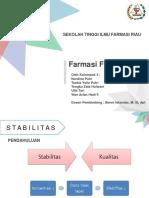FARFIS 2-STABILITAS