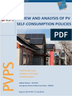 Review and Analysis of Pv Self Consumption Policies 2016- Iea-pvps