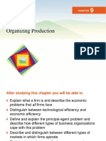 11. Organizing Production