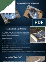 Cocinas y Frigorificos Solares