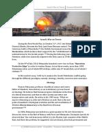 Geopolitics - Israel's War on Terrorism