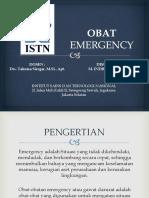 FARTER_M INDRA JAYA_OBAT EMERGENCY.pptx