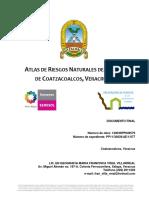 Atlas de Riesgos del municipio de Coatzacoalcos, Ver.