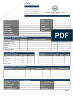 Employement Application Form