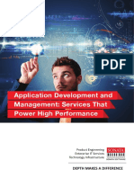 Application Development and Management