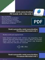 Model Matematika untuk menyelesaikan PD bentuk orde 1.pptx