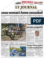 0827 issue of the Daily Journal