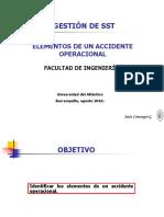 Elementos de Un Accidente Operacional