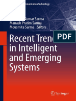 (Signals and Communication Technology) Kandarpa Kumar Sarma, Manash Pratim Sarma, Mousmita Sarma (Eds.)-Recent Trends in Intelligent and Emerging Systems-Spr