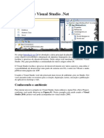 O Ambiente Visual Studio