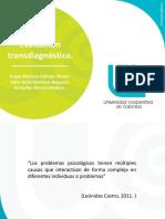 Evaluación transdiagnostica