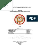 Makalah Kelompok 2. Pelaporan Dan Analisis Laporan Keuangan
