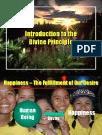 Introduction of Divine Principle