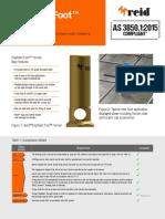 Reid™ Elephant Foot™ Ferrule AS 3850_2015 compliance
