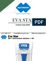 Blue Mount Eva Star - RO + Antioxidant Alkaline + UF