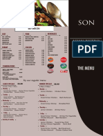 menu son