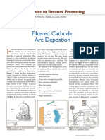 Filtered Cathodic Arc Deposition