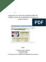 Manual de Uso Del Robot Industrial IRB140