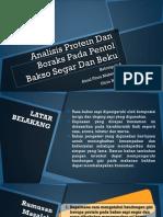 Ppt App Analisis Boraks Dan Protein Ainul Dan Lita