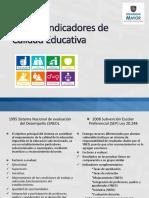 PPT Monografia Nuevos Indicadores de Calidad Educativa Definitivo