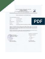 Surat Aktif Organisasi