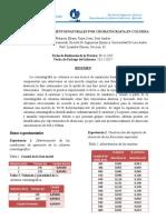 Informe de Cromatografia. Eliana, Jesus Andres