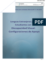 Lenguas Extranjeras para estudiantes con discapacidad visual