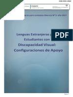 Lenguas Extranjeras para estudiantes con discapacidad visual