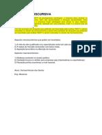 Administração e Economia Para EngenhariaATIVIDADE DISCURSIVA