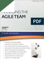 Sid Ky Managing Agile Team