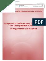 Lenguas Extranjeras para estudiantes con discapacidad auditiva