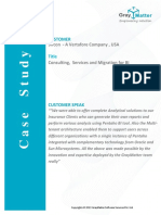 Pentaho Migration Case Study of Sircon Corporation - GrayMatter