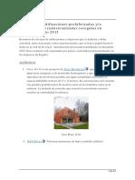 Resumen de Edificaciones Prefabricadas Marzo 2013