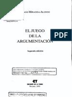 Miranda, Tomas El Juego de La Argumentación033
