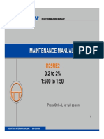 D25RE2MaintenanceManual 10-19-05
