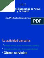 Operaciones Bancarias de Activo y Pasivo