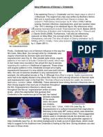 DRAFT The Many Influences of Disney's Cinderella