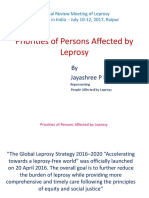 Priorities of Persons Affected by Leprosy