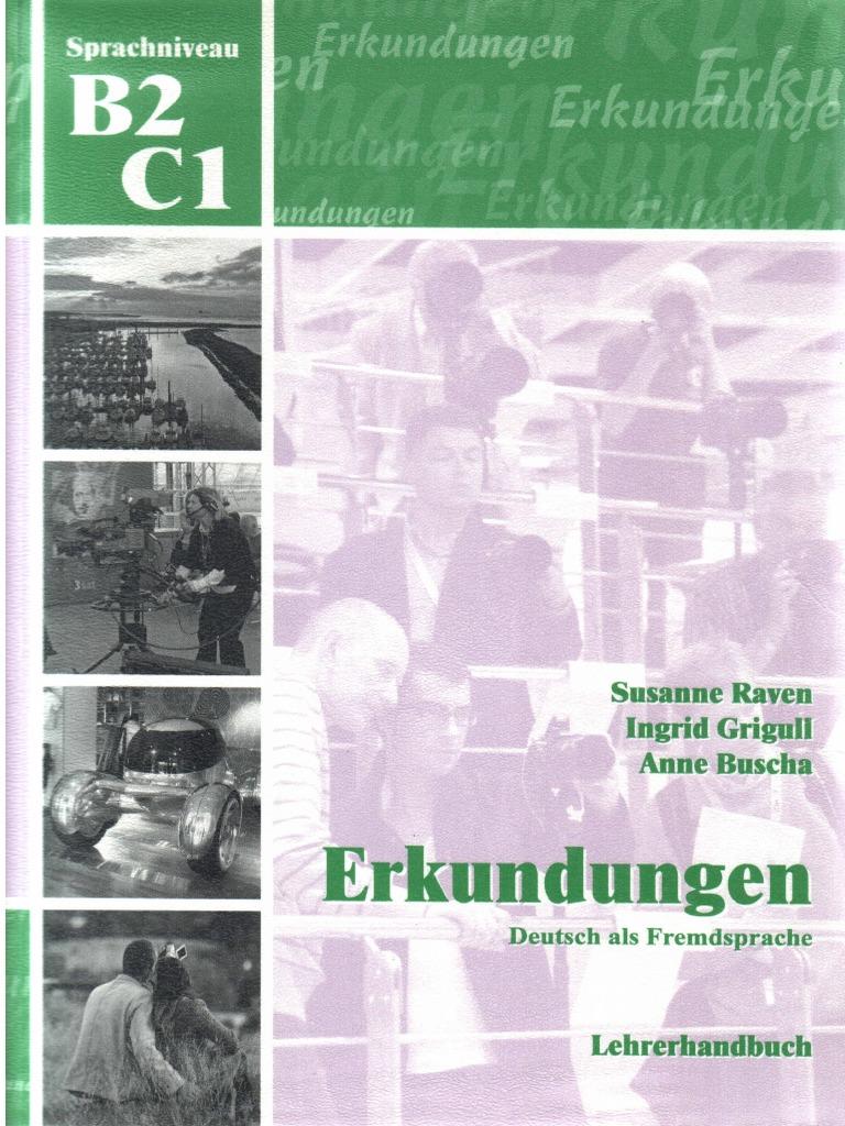Erkundungen B2-C1 Lehrerhandbuch